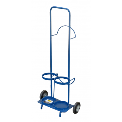 Wózek spawalniczy Benek tlen 5kg + acetylen 5 kg