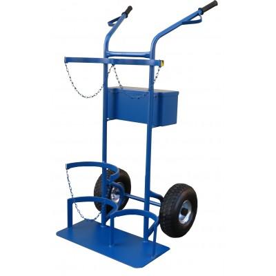 Wózek spawalniczy Benek tlen+ propan butan 11,5/33 kg