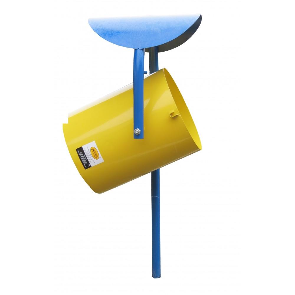 Kosz na śmieci malowany proszkowo