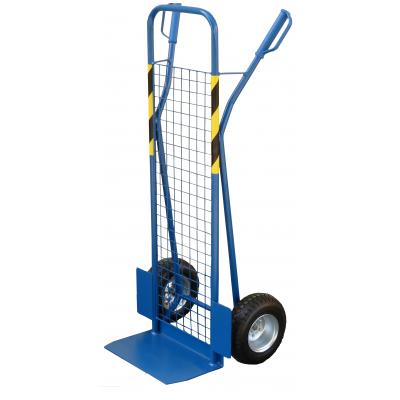 Wózek taczkowy, dwukołowy ALOŚ V siatka na łożyskach kulkowych